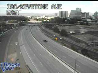 I-80 at Keystone Ave