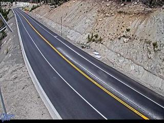 SR431 at Mt. Rose Summit