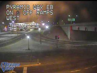 Pyramid Way at I-80 EB Onramp