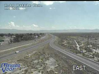 Traffic Cam I-80 and Battle Mountain